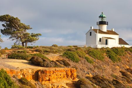 Point Loma Lighthouse in Cabrillo National Park, San Diego photo