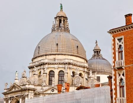 Dome of basilica of Santa Maria Della Salute, Venice Stock Photo - 9081016