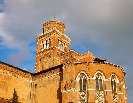 Church of Santa Maria Glosa dei Frari, Venice Stock Photo - 9081022