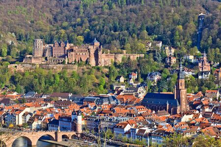 View on Heidelberg at spring, Germany Stock Photo - 9196289