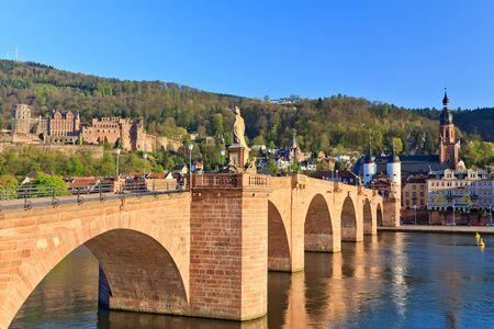 Bridge in Heidelberg, Germany  photo