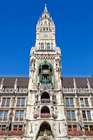 New Town Hall in Munich Stock Photo - 9196286