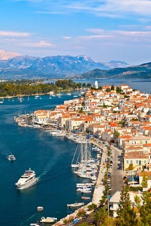 poros: View on Poros, Greece