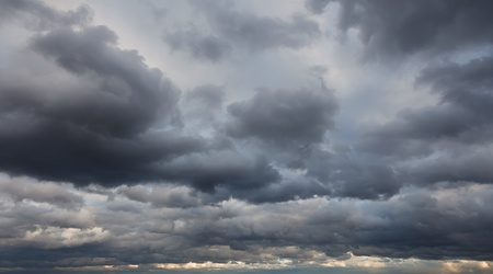 dark cloud: Natural backgrounds: stormy sky Stock Photo