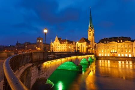 zurich: Zurich at night