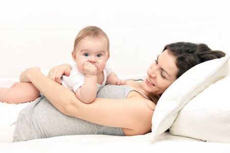 Mother with baby Stock Photo - 9431071