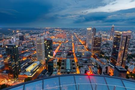 Frankfurt am Main at night photo