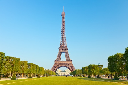 Eiffel Tower, Paris, France Stock Photo - 9696181