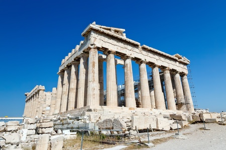 Parthenon in Acropolis, Athens  photo