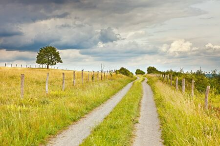 German countryside at summer Stock Photo - 9950593