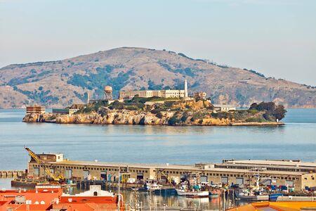 View on the Alcatraz Prison, San Francisco Stock Photo - 10312563