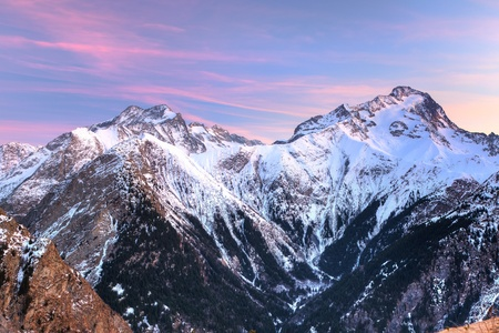 French Alps Stock Photo - 10059337
