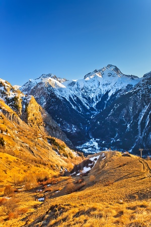 French Alps Stock Photo - 10059356