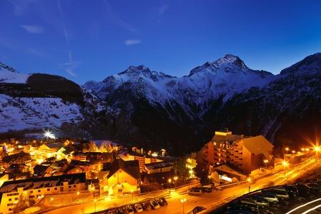 le roche: french alps Stock Photo