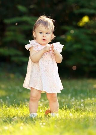 little girl in the park Stock Photo - 10129448