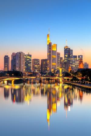 Frankfurt nad Mohanem Reklamní fotografie