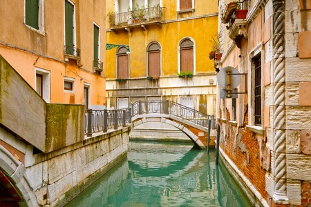 venezia: Small bridge in Venice