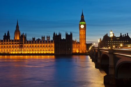 Big Ben and Houses of Parliament Stock Photo - 10563234