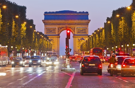 champs: Arch of Triumph, Paris, France