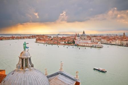 Venice from campanile of San Giorgio Maggiore photo