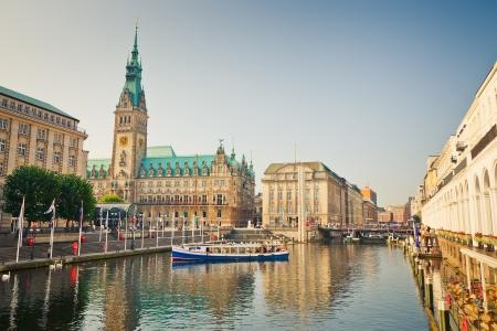 town halls: Hamburg