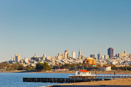 usa cityscape: San Francisco skyline