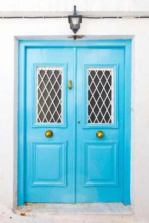 Blue door Stock Photo - 10793421