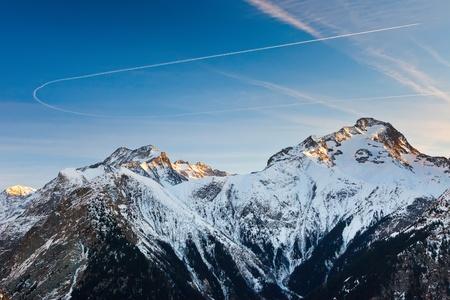 le roche: French Alps