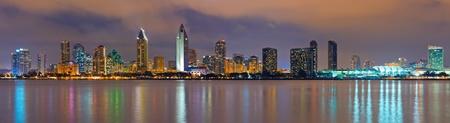 San Diego at night photo