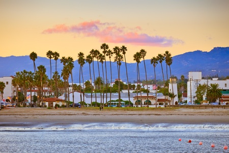 Santa Barbara from the pier photo