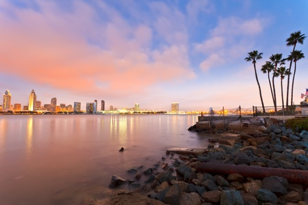 bay city: San Diego at night