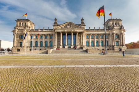 Reichstag in Berlin photo
