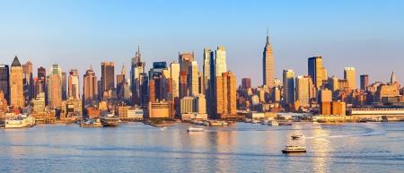 Panoramisch uitzicht op Manhattan