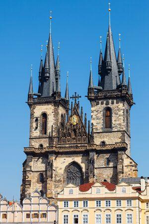 tyn: Tyn Cathedral in Prague