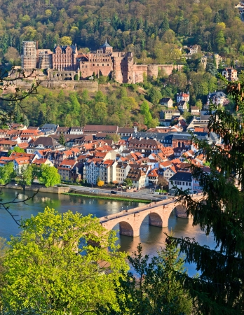 Heidelberg at spring photo