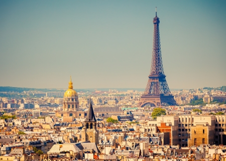 aerial: Torre Eiffel