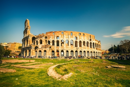Coliseum in Rome Standard-Bild