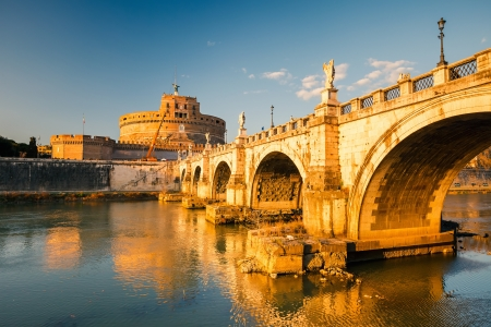 Sant Angelo fortress, Rome Stock Photo - 15016003