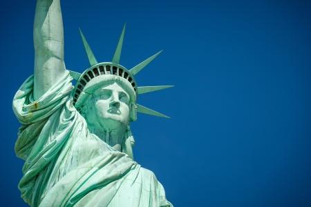 statues: Statue of Liberty Stock Photo