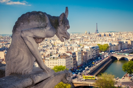 chimera: Chimera on Notre Dame Cathedral
