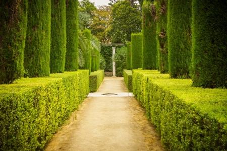 sevilla: Tuin van de Dichters in Alcazar, Sevilla