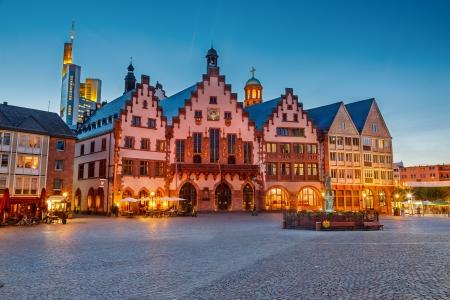 フランクフルトの歴史的な中心部