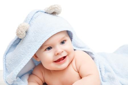 Cute crawling baby Stock Photo - 15693044