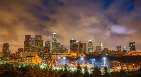 los: Los Angeles at night