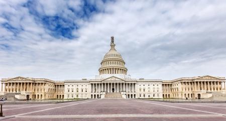 dc: US Capitol panoramic view, Washington DC