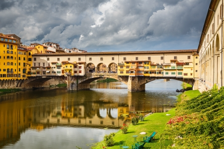 Ponte Vecchio in Florence, Italy photo