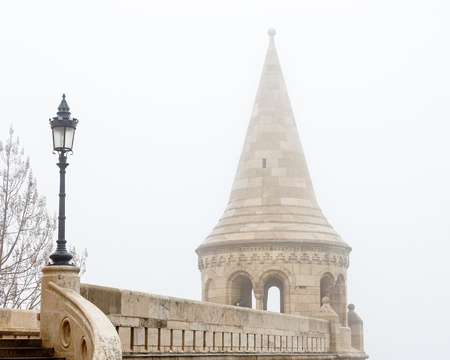 buda: Bastion des P�cheurs au ch�teau de Buda, Budapest