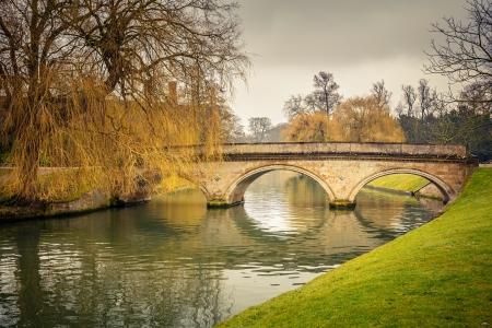 cambridge: Bridge over Cam river, Cambridge University