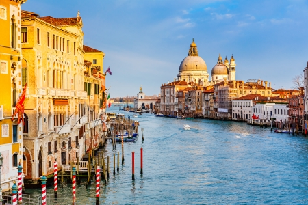 Grand Canal in Venice, Italy Stock Photo - 22410261