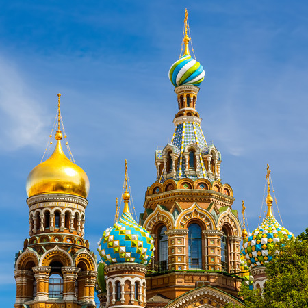 saint petersburg: Church of the Savior on Spilled Blood in St  Petersburg, Russia